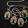 Up to 54% Off Hand-Painted Saint Medallions