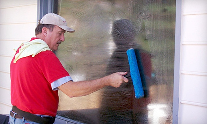 We Do Windows - Piedmont Triad: Window Washing or Power Washing for 2,000 or 3,000 Square Feet from We Do Windows (Up to 65% Off)