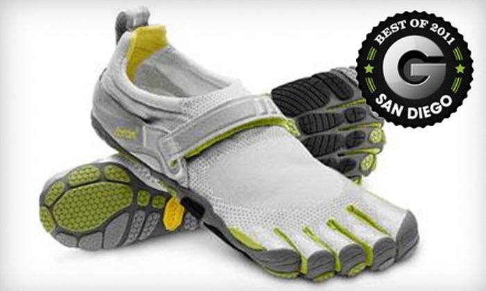Birkenstock of San Diego - Multiple Locations: $20 for $40 Toward Vibram FiveFingers Shoes at Birkenstock of San Diego. Five Locations Available.