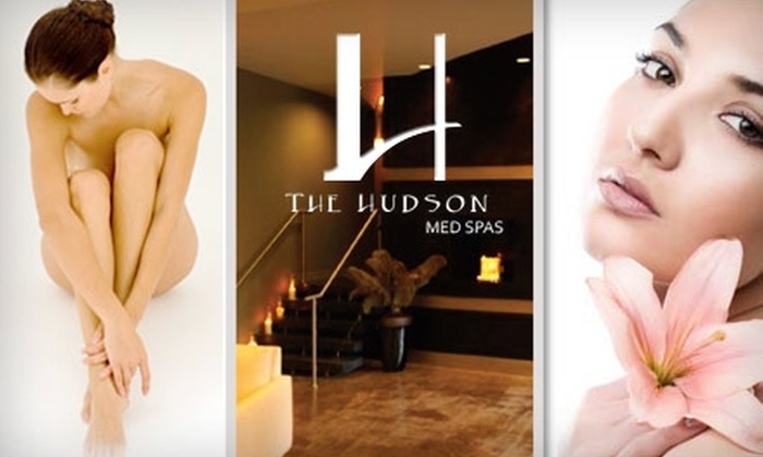 The Hudson Med Spas - South Plaza: $125 for Six Laser Hair-Removal Treatments at The Hudson Med Spas (Up to $675 Value)