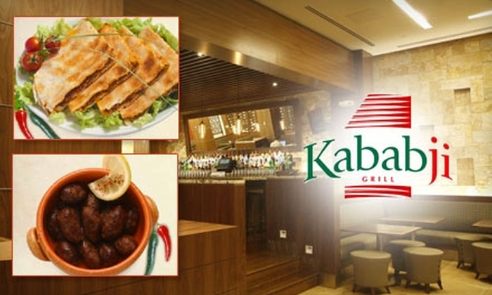 Kabab-ji Grill - Dupont Circle: $15 for $30 Worth of Lebanese Fare at Kabab-ji Grill