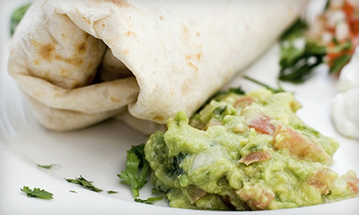 Bandidos Burrito Company - Tallahassee: $7 for $14 Worth of Casual Mexican Fare and Drinks at Bandidos Burrito Company