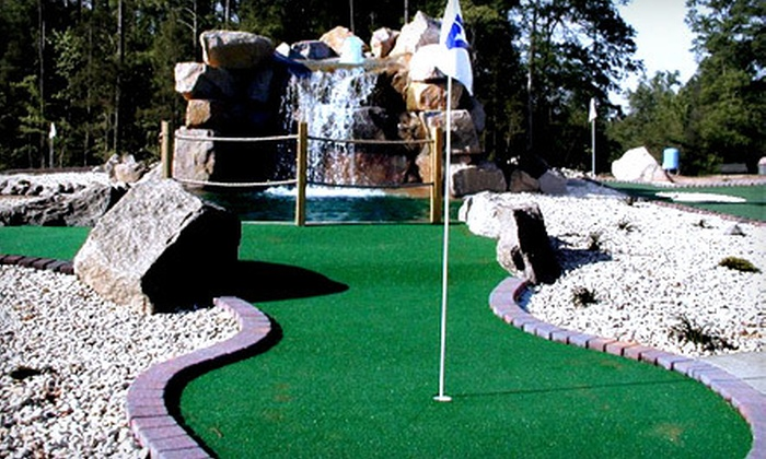Lake Murray Golf Center - Northwest Columbia: Mini-Golf Outing for Four or Golf Outing for Two or Four at Lake Murray Golf Center in Chapin (Up to 53% Off)