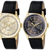 Invicta Vintage Men's 44mm Leather Watch