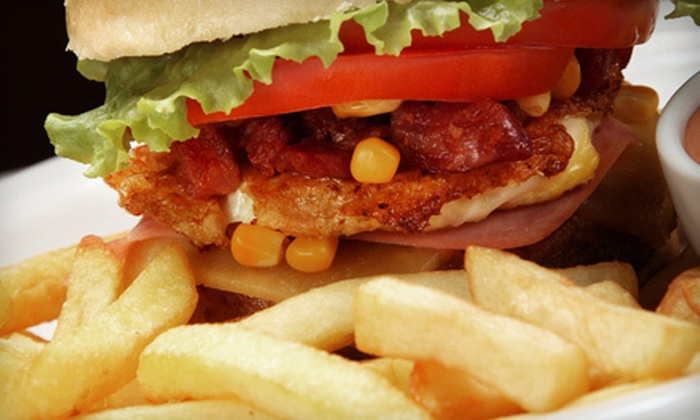 Wando's - Madison: $14 for a Pub Meal with Burger and Beer for Two at Wando's (Up to $29.50 Value)