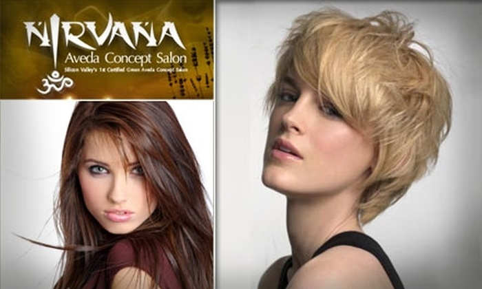 Nirvana Aveda Concept Salon - Los Gatos: $30 for $65 Worth of Salon Services and a Complimentary Hair Spa Treatment at Nirvana Aveda Concept Salon