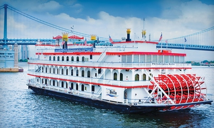 """Philadelphia Belle"" - Penn's Landing: $15 for One Ticket to Taste of the Belle Fridays Cruise Aboard the ""Philadelphia Belle"" Riverboat ($31.19 Value)"