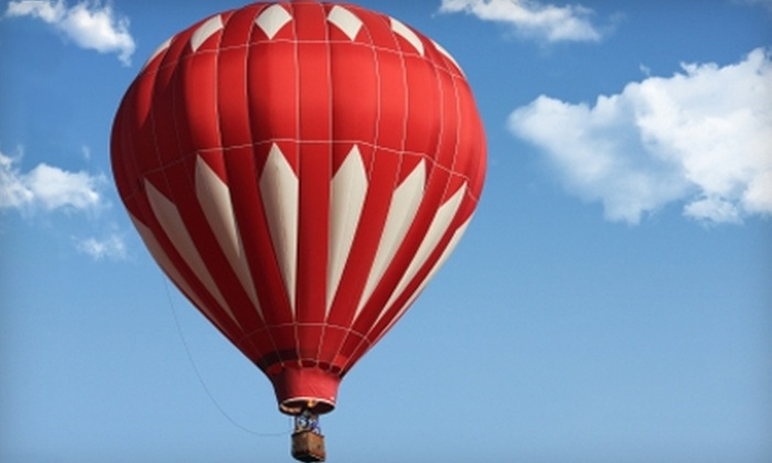 R.O. Franks Aviation Company - Downtown Asheville: $125 for a Hot Air Balloon Ride from R.O. Franks Aviation Company in Asheville, NC ($250 Value)
