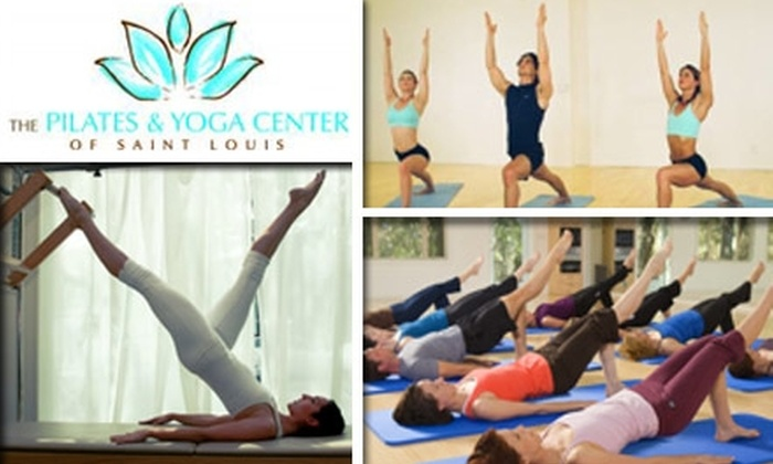The Pilates and Yoga Center of St. Louis  - Hi-Pointe: $30 for Five Drop-In Classes at Pilates and Yoga Center of St. Louis ($65 Value)