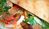 Pita Grill - The Waterfront: Mediterranean Fare for Two or Four at Pita Grill in Hoboken (Up to 60% Off)