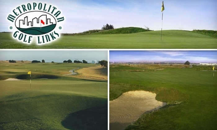 Metropolitan Golf Links - Oakland: $59 for 18 Holes of Golf for Two Plus a Cart at Metropolitan Golf Links in Oakland (Up to $156 Value)