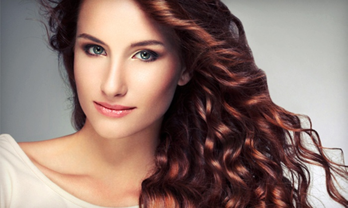 Liz or Tracy at Extasis Salon & Spa - North Royalton: Hairstyling Packages from Liz or Tracy at Extasis Salon & Spa (Up to 65% Off). Four Options Available.