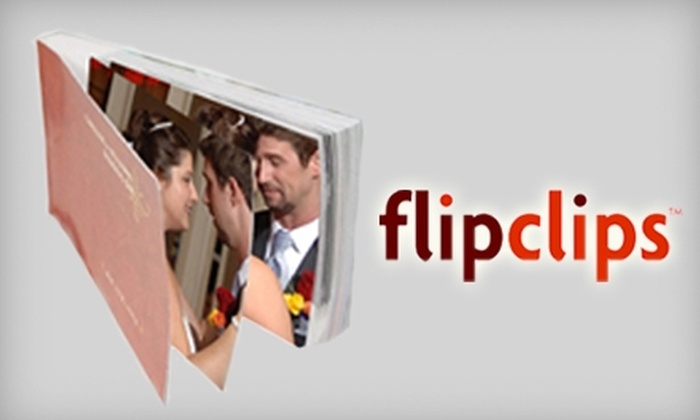 FlipClips: $45 for $100 Worth of Personalized Flipbooks at FlipClips in L.A.