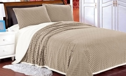 Soft Mermaid Bedspread in Queen or King for $49.99 or $54.99