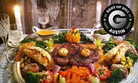 Kinsale-Chateaubriand Dinner for Two (a $175 value) - The Emerald Restaurant in Austin