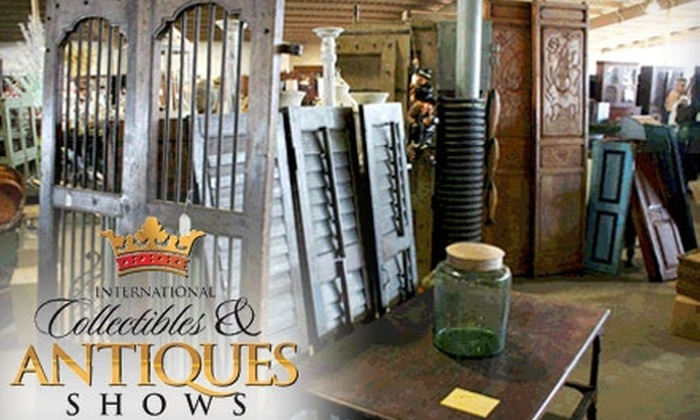International Collectibles & Antiques Shows - Henderson Circle: Two Tickets to the International Collectibles & Antiques Shows. Choose Between Two Options.