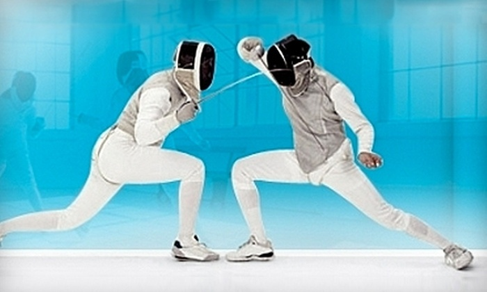 Manhattan Fencing Center - Garment District: $35 for a 90-Minute Youth Fencing Class at Manhattan Fencing Center ($70 value)