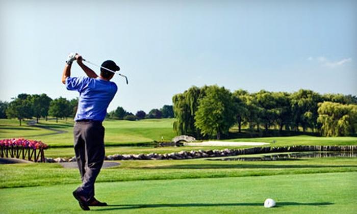 Aldeen Golf Club - Northeast: 18-Hole Golf Outing for Two or 18-Hole Golf Outing for Two with Cart Rental at Aldeen Golf Club