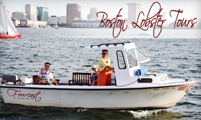 Boston Lobster Tours - North End: $80 for a 75-Minute Private Lobster Tour with Boston Lobster Tours ($150 Value)