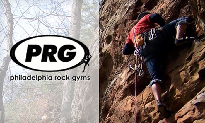 Philadelphia Rock Gyms - Tinicum: $25 for a Half-Day of Outdoor Rock Climbing from Philadelphia Rock Gyms ($50 Value)