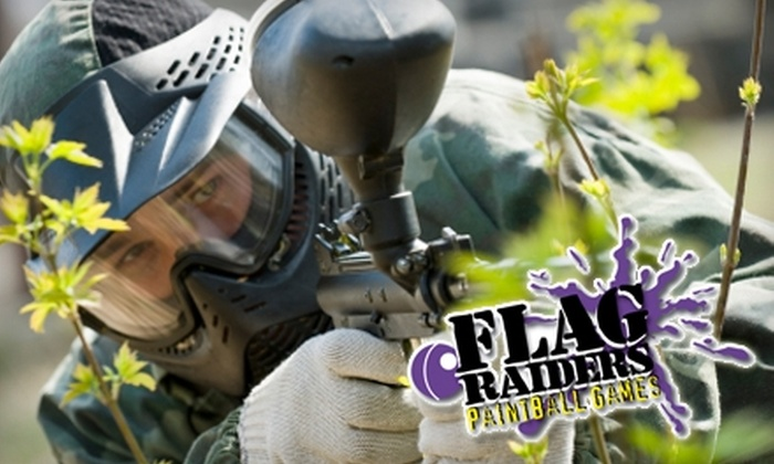 Flag Raiders - Victoria Hills: $11 for Indoor Paintball Package at Flag Raiders