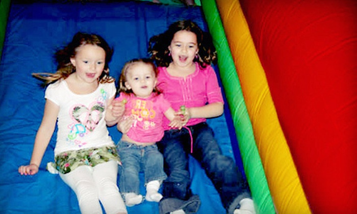 Concord Bounce - Elkhart: Kids' Bounce Outings at Concord Bounce (Up to 53% Off). Four Options Available.