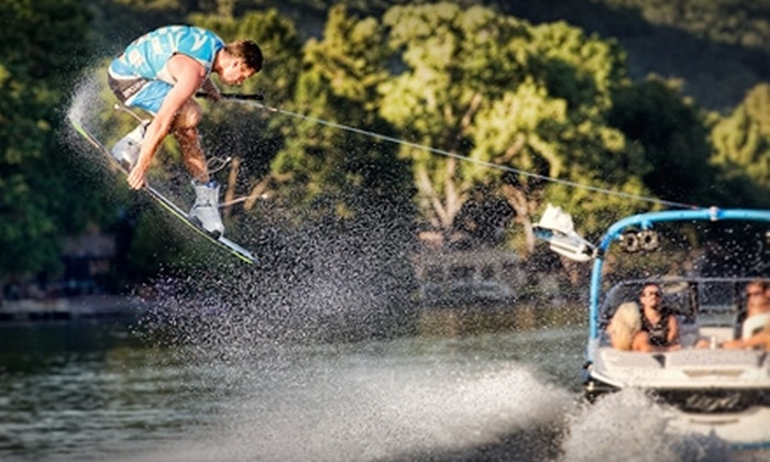 BC Wake Boats - Lake Cowichan: Freeride Water-Sport Excursion During the Week or the Weekend from BC Wake Boats