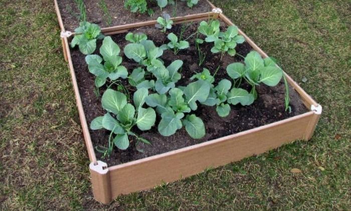 Greenland Gardener: $15 for a Single-Bed Raised Garden Kit from Greenland Gardener ($30 Value)