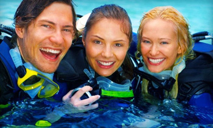 My Scuba Adventures - Providence Estates East: PADI Open-Water Scuba-Certification Course for One or Two at My Scuba Adventures in Stallings (67% Off)