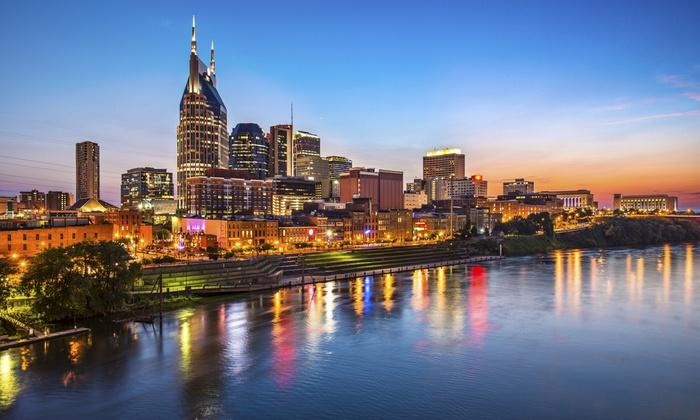 Experience Nashville Tours - Downtown Nashville: Famous Footsteps Nashville Walking Tour for One, Two, or Four at Nashville Walking Tour (Up to 51% Off)