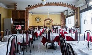 La Perla (Valmadrera): Menu con pizza, antipasto, dolce e birra (sconto 66%)