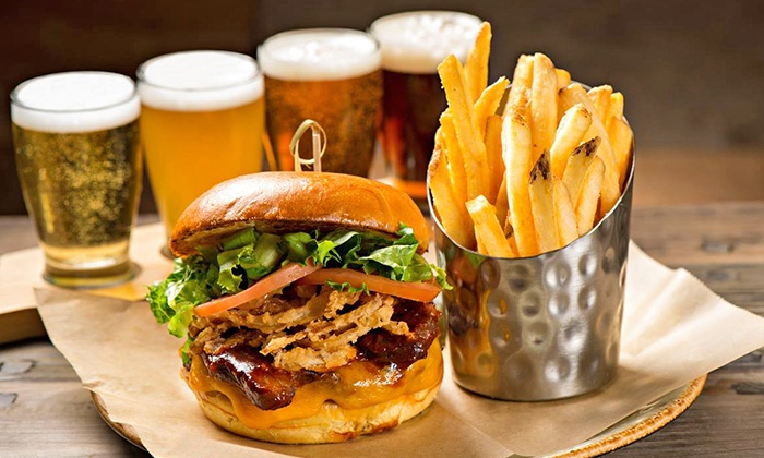 Red's Bar & Grill - The Wigwam: $17 for $30 Worth of Gourmet Burgers and Sandwiches at Red's Bar & Grill