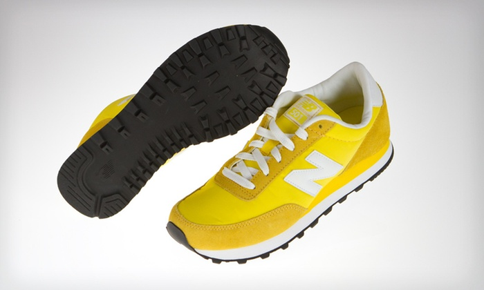 New Balance Women's 501 Sneakers: $39 for New Balance Women's 501 Sneakers in Yellow with Shipping Included. ($47.94 Total Value). Five Sizes Available.