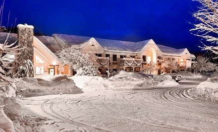 Stay with Optional Skiing Passes at The Lodge at Jackson Village in Jackson, NH. Dates into May Available