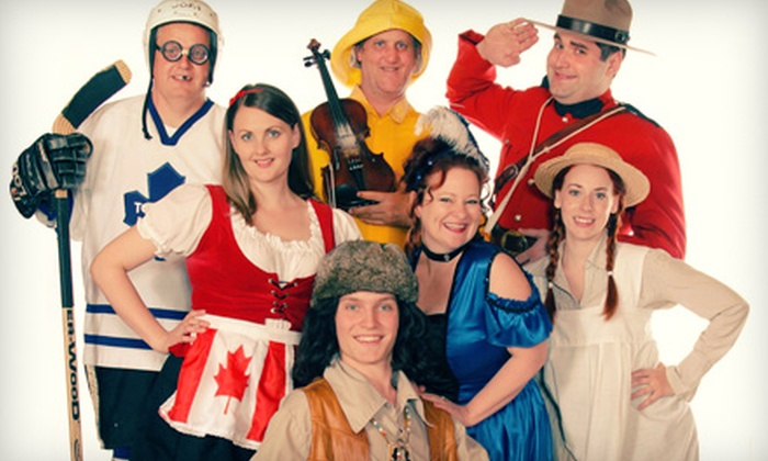 Oh Canada Eh? Dinner Show - Oh Canada, Eh? Theatre: Oh Canada Eh? Dinner Show Theatre for Two  (Up to 62% Off)