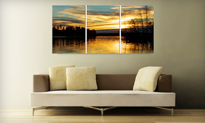 """Double Wings Art - Markham: One 16""""x20"""" or 20""""x24"""" Photo-to-Canvas Print at Double Wings Art (Up to 72% Off)"""