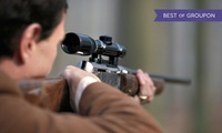 Quad Trekking, Laser Line Clay Pigeon Target, Long Bow and Crossbow Experience for Up to Four with Lea Marston Events