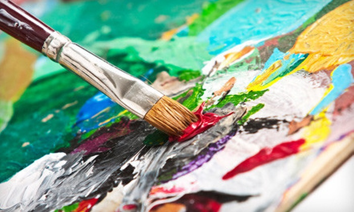 Ann Bridges Art Studio - Mid-Wilshire: Two-Hour Acrylics-Painting Class for 1, 2 or Party for Up to 12 at Ann Bridges Art Studio (Up to 72% Off)