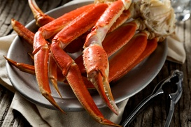 Raging Crab: $29 for Seafood Lunch for Two at Raging Crab ($50 Value)