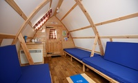 Wye Valley: 1 or 2 Night Wigwam Stay For Up To Five With Parking at NDAC Wooden Wigwams