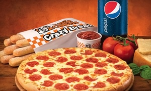 Little Caesars Pizza: $15 for $30 Worth of Pizzas, Crazy Bread, and Soda at Little Caesars