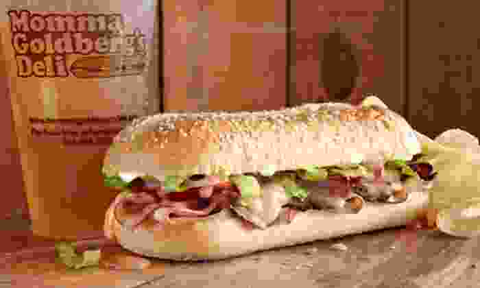 Momma Goldberg's Deli - Boaz: Two Groupons, Each Good for $16 Worth of Deli Food at Momma Goldberg's Deli (50% Off)