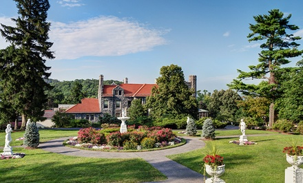 Stay at Tarrytown House Estate on the Hudson, NY. Dates into February 2018.
