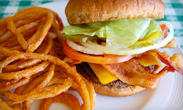 The Burger Shack - Spring Branch East: Texan Comfort Fare or Cheeseburger Dinner for Two at The Burger Shack