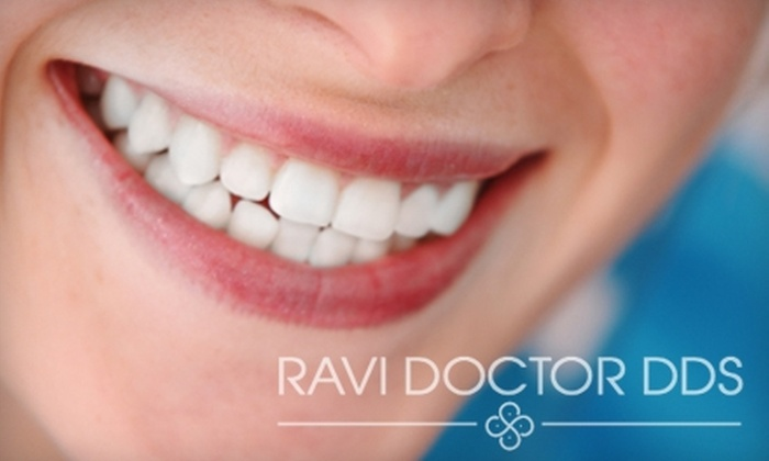 Dr. Ravi Doctor, DDS - Multiple Locations: Invisalign Package, Implant Consultation, or Ultradent Opalescence Whitening from Dr. Ravi Doctor, DDS. Choose from Three Options.