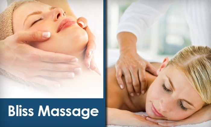 Bliss Massage SF - SoMa: $40 for a Swedish and Deep-Tissue Massage Combo at Bliss Massage ($80 Value)