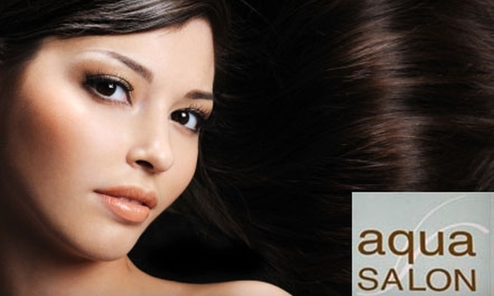 Aqua Salon - Manhattan Beach: $39 for $80 Worth of Hair Services at Aqua Salon in Manhattan Beach
