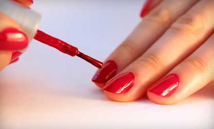 Shellac Manicure (a $30 value) - Nails by Jackie at Studio 413 in Papillion