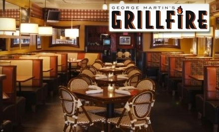 George Martins Grillfire in 13 N Park Ave. in Rockville Centre: $30 Worth of Dinner - George Martins Grillfire in Rockville Centre