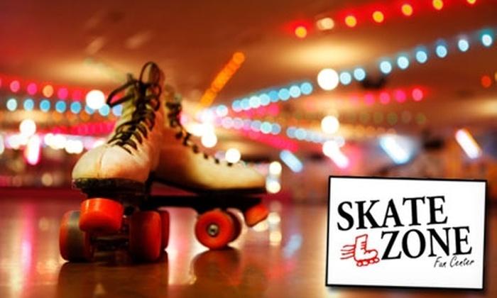 Skate Zone Fun Center - Austintown: $7 for Five Activities at Skate Zone Fun Center